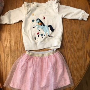Adorable Hanna Andersson Outfit! Size 2T